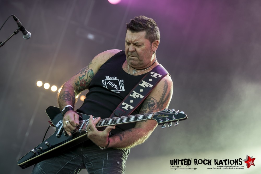 ROSE TATTOO sur Main Stage 1 au Hellfest 2018