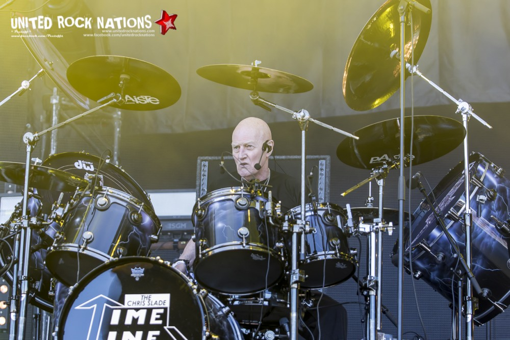 THE CHRIS SLADE TIMELINE sur Main Stage 1 au Hellfest 2018