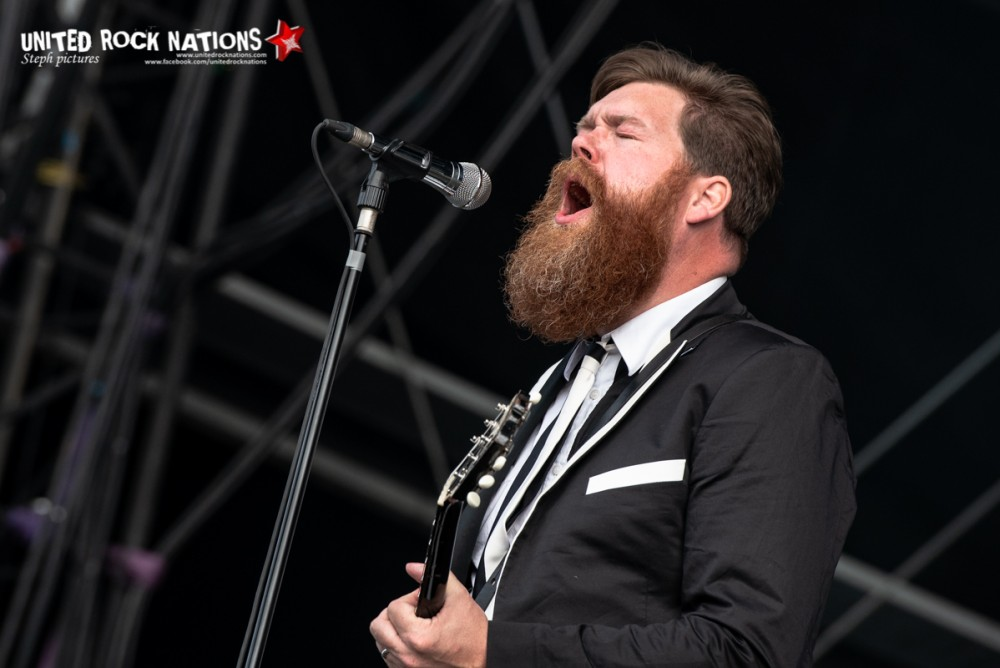 THE HIVES sur la scène Main Stage 1 du Download Festival 2018
