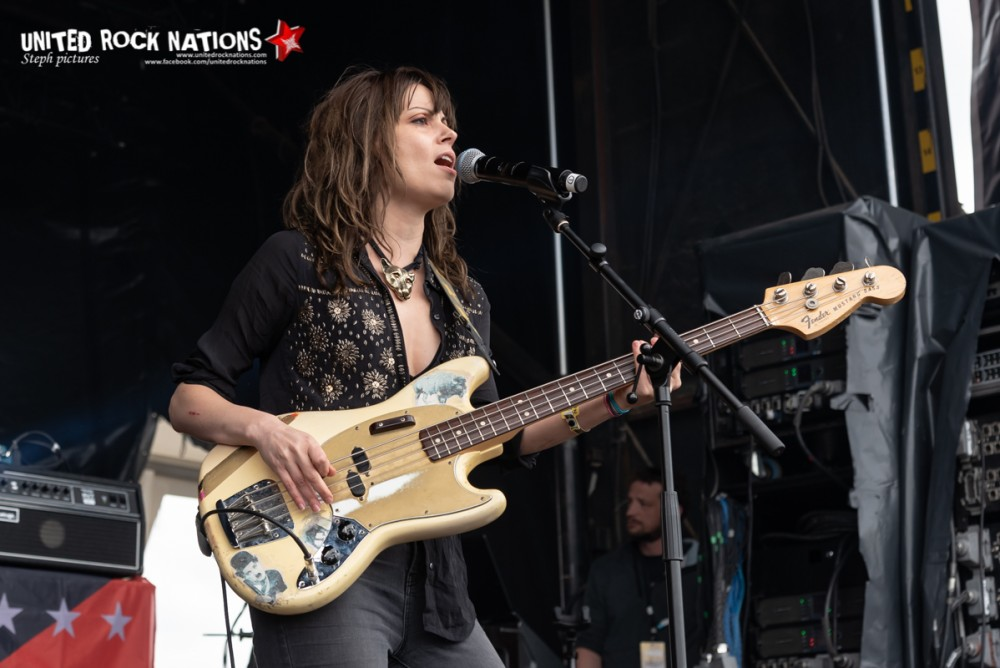 THE LAST INTERNATIONALE sur la scène Spitfire du Download Festival 2018