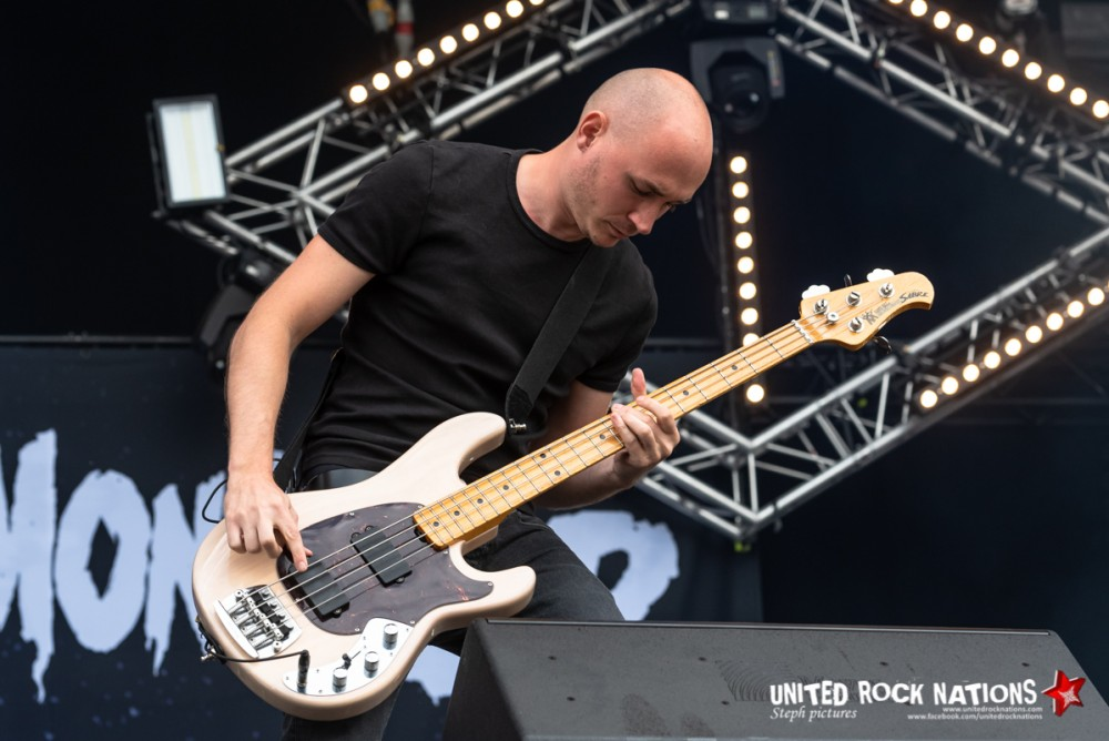 TEACUP MONSTER sur la scène Main Stage 2 du Download Festival 2018