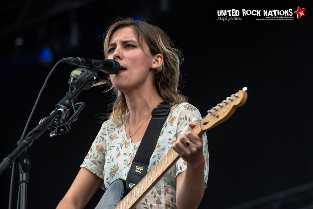 WOLF ALICE sur la scène Main Stage 1 du Download Festival 2018