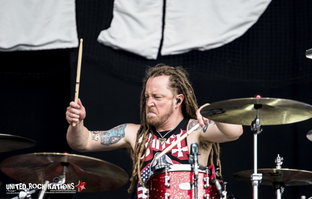 SHINEDOWN, live Hellfest 2016