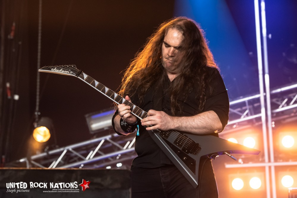 TOMBS sur Temple au Hellfest 2018