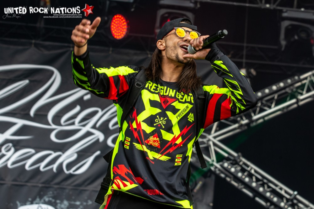 WILD MIGHTY FREAKS sur la scène Warbird du Download Festival 2018