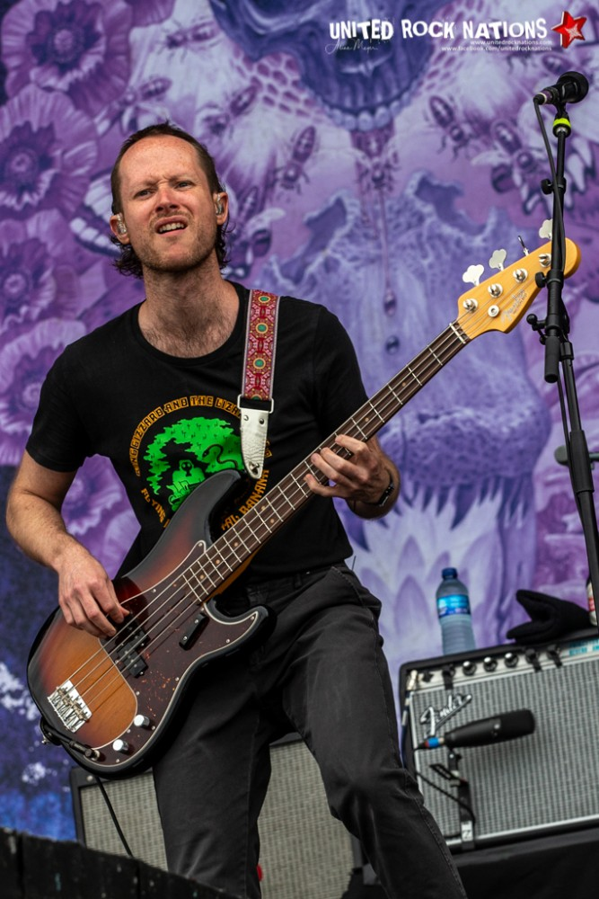BARONESS sur la scène Main Stage 1 du Download Festival 2018
