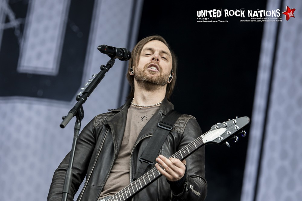BULLET FOR MY VALENTINE, live Hellfest 2016
