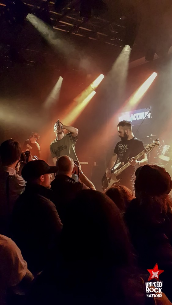 REPORT SICK OF IT ALL / WORST DOUBT / LUGOSI @ ESPACE ICARE Issy Les Moulineaux le 10/11/18!