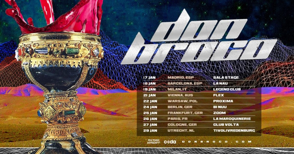 DON BROCO en concert le 26 janvier 2019 @ Paris!
