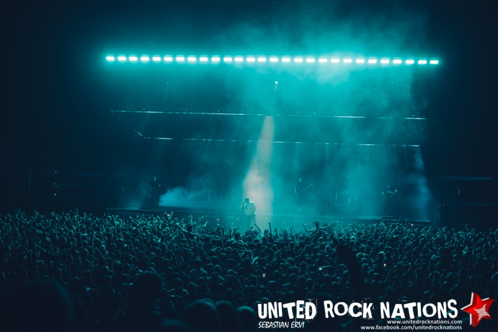 Bring Me The Horizon au Zénith à Paris le 21 Octobre 2018