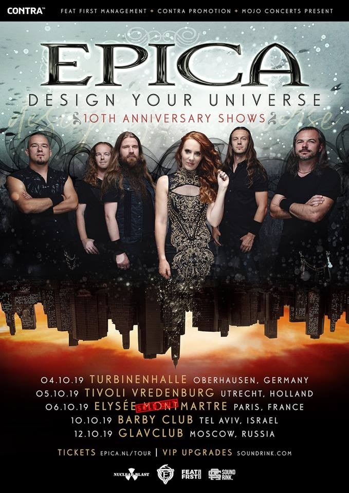 EPICA, le concert de Paris déjà Sold out !
