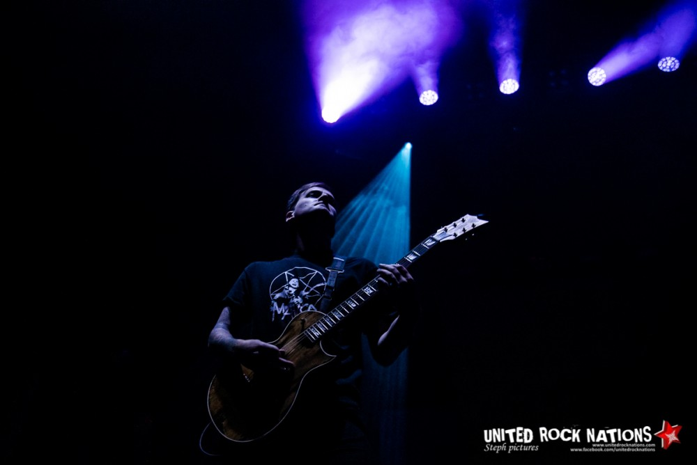 Report Beartooth à l'Olympia le 27/01/2019