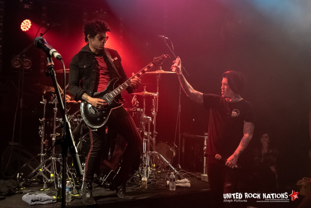 Report Escape The Fate au Trabendo la 18/02/2019