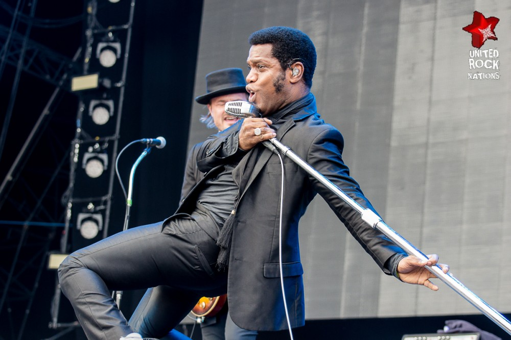 VINTAGE TROUBLE, live Hellfest 2016
