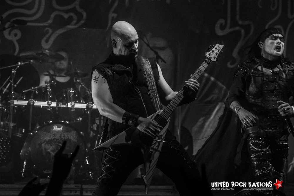 Report Cradle of Filth à La Machine du Moulin Rouge le 25/04/2019