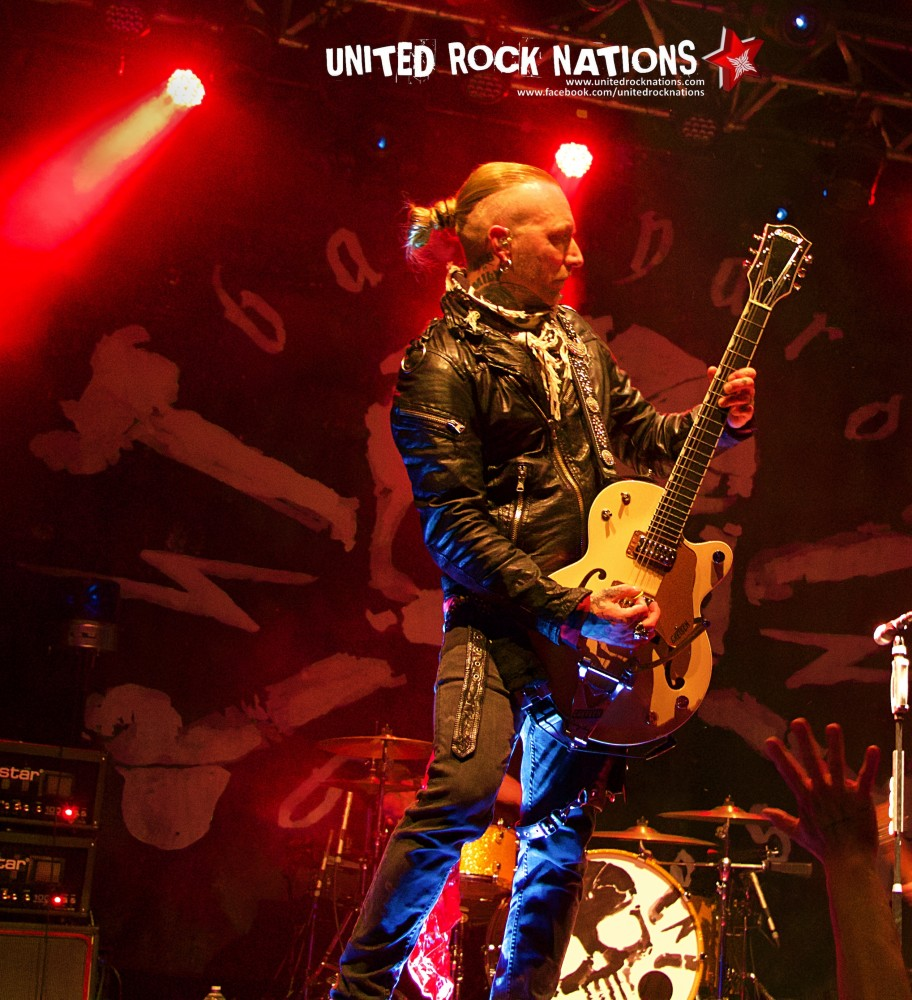 BACKYARD BABIES / AUDREY HORNE / THUNDERMOTHER à LYON