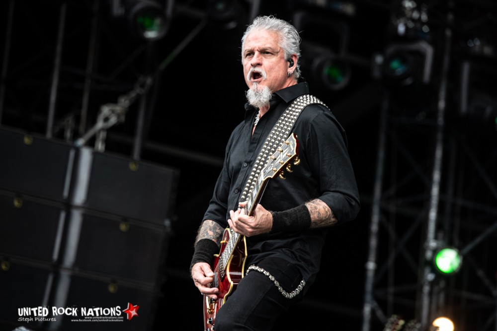 Portfolio Demons & Wizards au Hellfest Open Air Festival le 21/06/2019