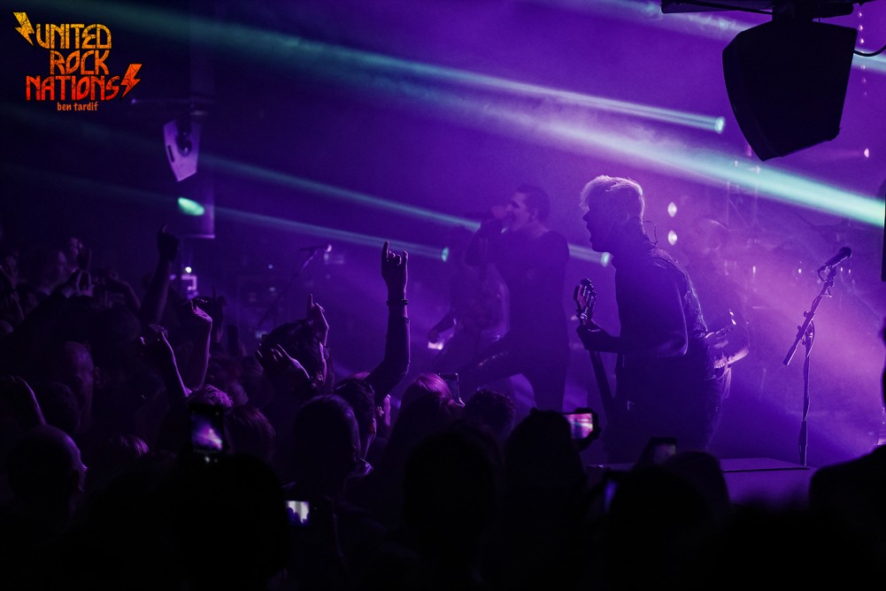 Live report de MOTIONLESS IN WHITE / SKOLD @Le TRABENDO