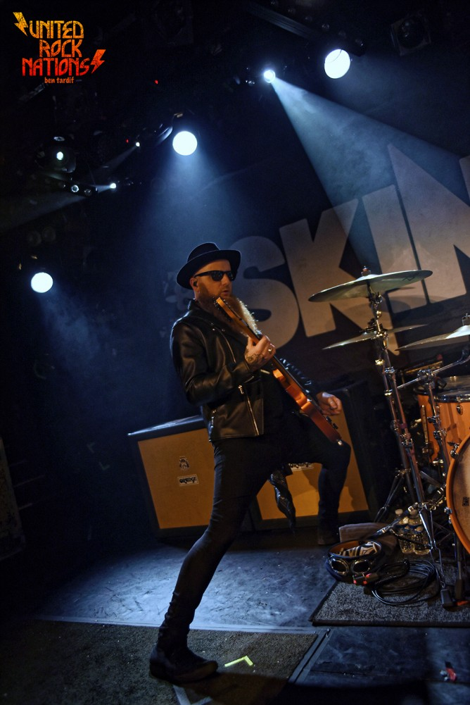 Live report SKINDRED @La Maroquinerie PARIS 18.12.2019