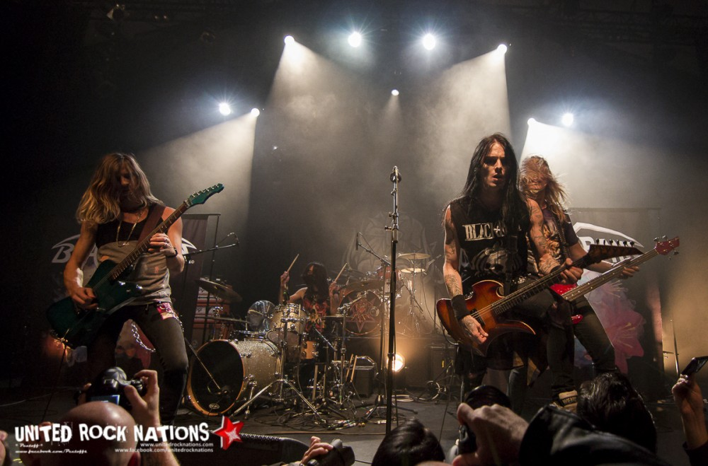 Report BLACKRAIN, Paris Elysée Montmartre 15/10/2016 !