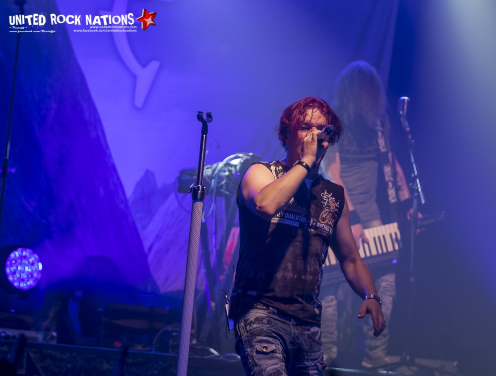 Report SONATA ARCTICA, Paris la Machine du Moulin Rouge 16/10/2016