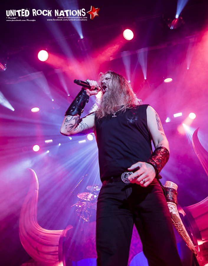 Report AMON AMARTH, le Casino de Paris le 07/11/2016 !