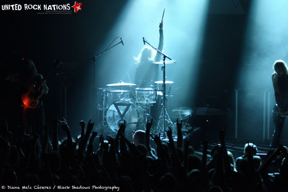 Kadavar, 30.10.2016 @ Paris - Le Trianon