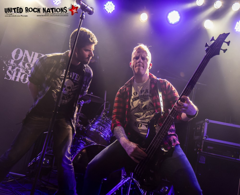 Portfolio, ONE LAST SHOT au Paris Metal France Festival le 07/01/2017 !