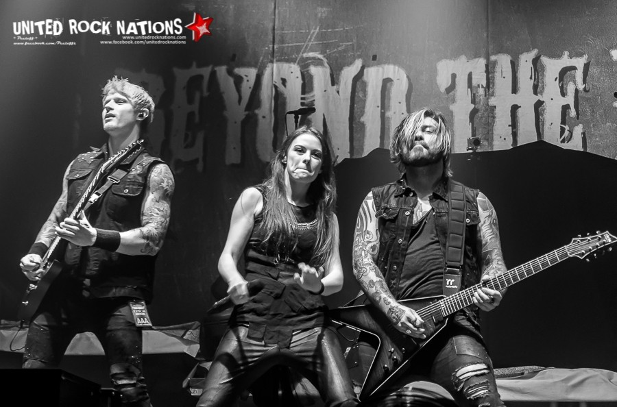 Report, BEYOND THE BLACK au Zénith de Paris le 04/02/2017 !