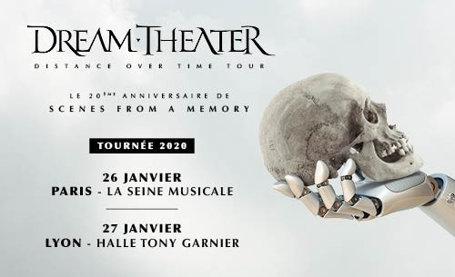 DREAM THEATER en concert à Paris et à Lyon en 2020