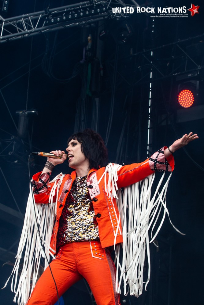 THE STRUTS sur la scène Main Stage 2 du Download Festival 2018