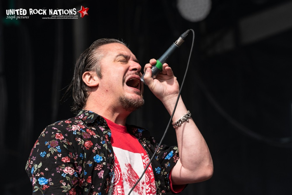 DEAD CROSS sur la scène Main Stage 2 du Download Festival 2018