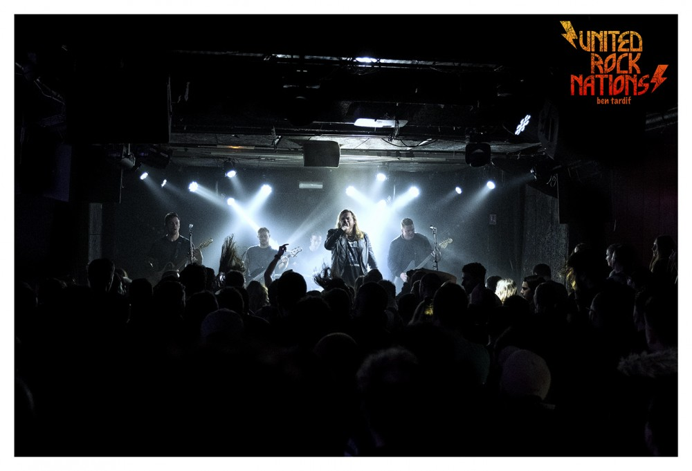 Live report WAGE WAR / DED / THORNHILL@Le Backstage O'Sullivan -  Paris 21.01.20