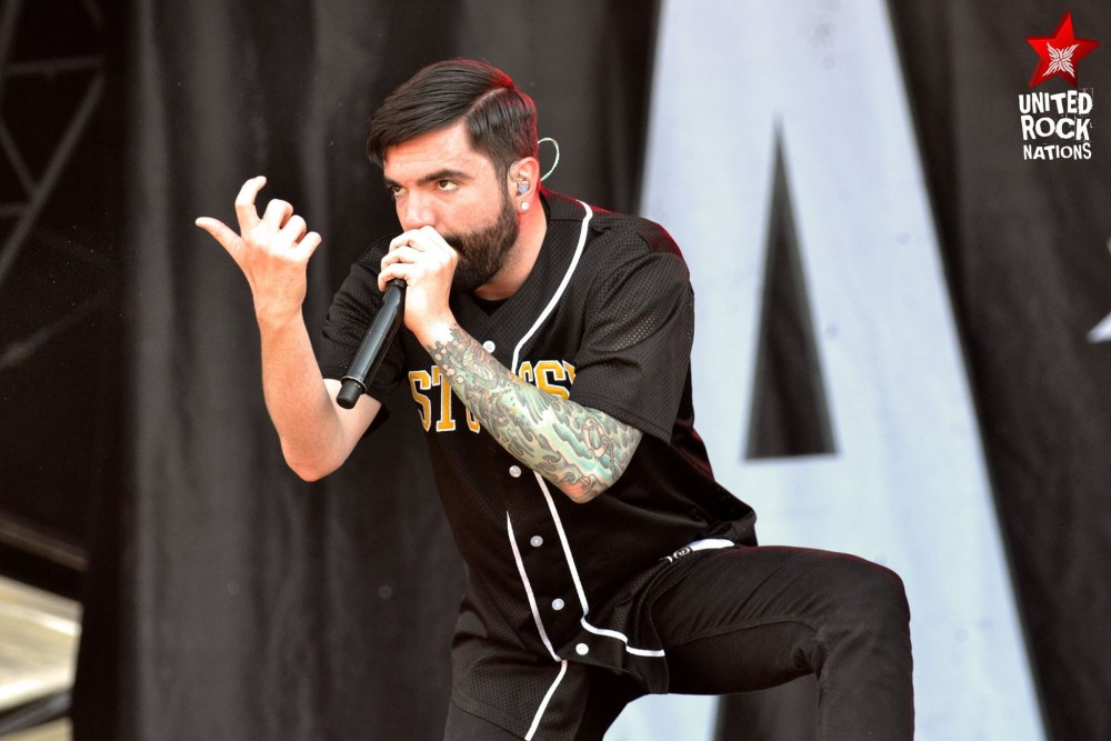 A DAY TO REMEMBER Hellfest 2015