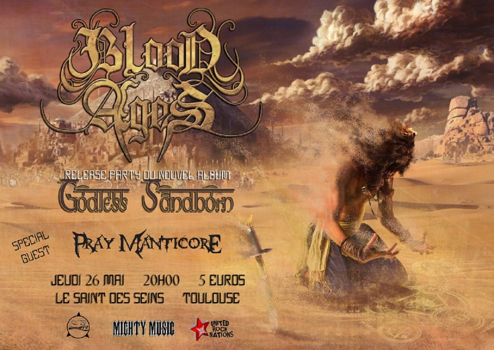 BLOOD AGES release party