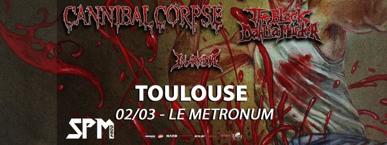 Live Report@ Complet // Cannibal Corpse, The Black Dahlia Murder, In Arkadia