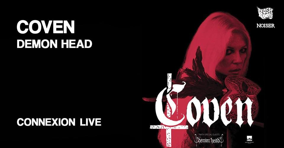Live Report@Coven + Demon Head | Connexion Live, Toulouse