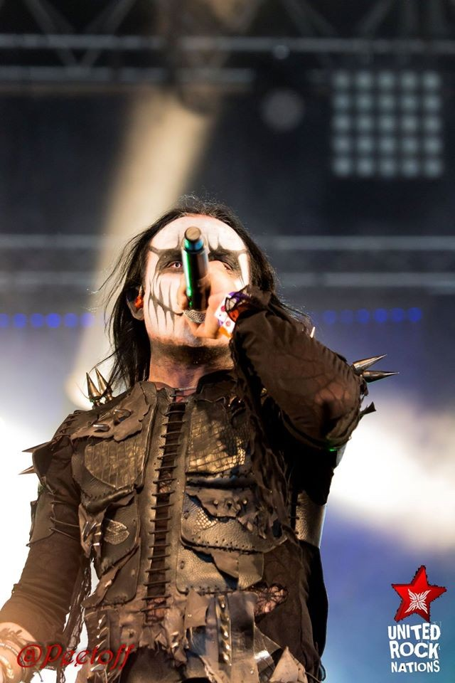CRADLE OF FILTH Hellfest 2015