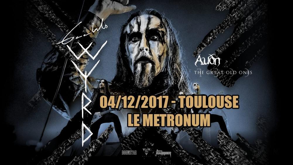 Live Report Gaahl's Wyrd // The Great Old Ones // Auðn - Toulouse