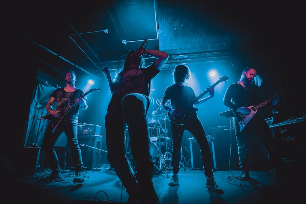 Report HAUNTED BY SILHOUETTES @ Inside Rock Café (Bergen, Norvège) le 29/09/2018
