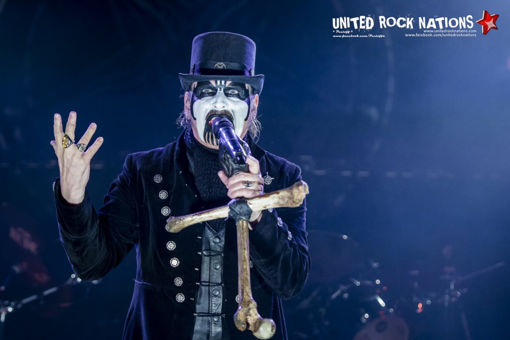 KING DIAMOND, live Hellfest 2016
