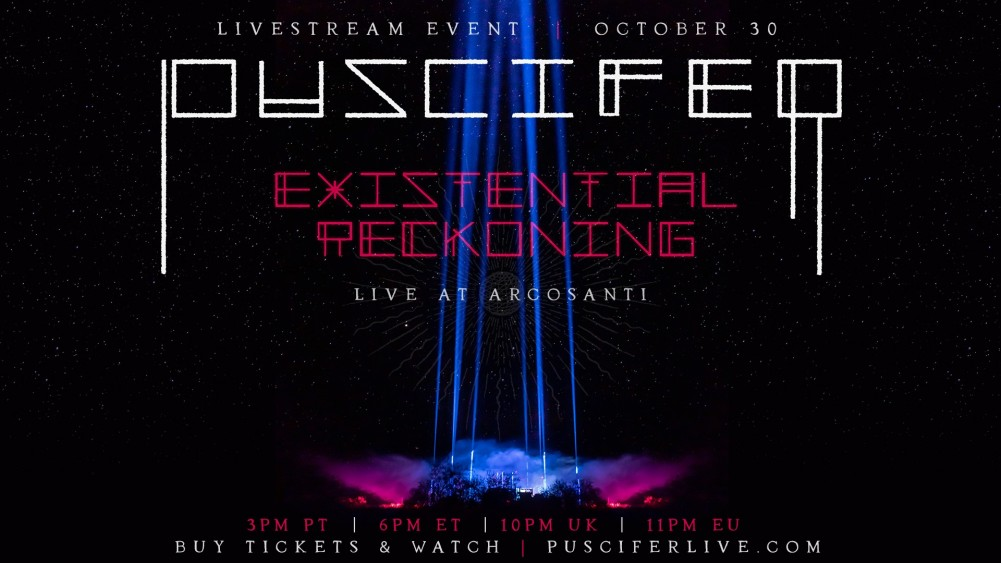 Report Puscifer, Existential Reckoning@Live at Arcosanti