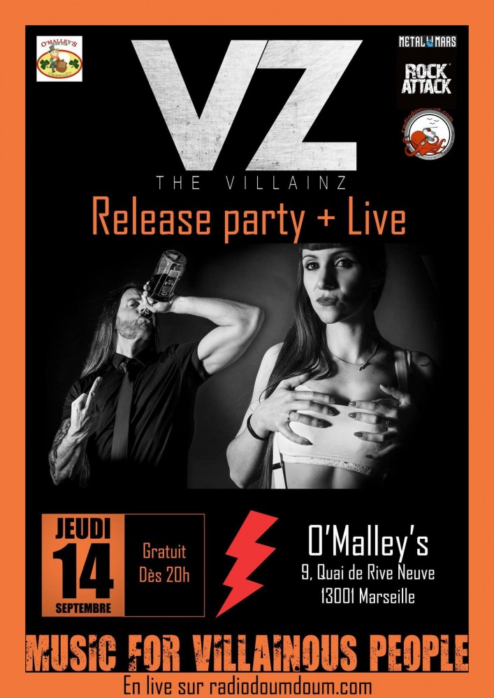 THE VILLAINZ, Marseille ''O'Maley'S Pub''